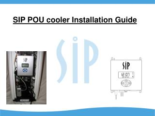 SIP POU cooler Installation Guide