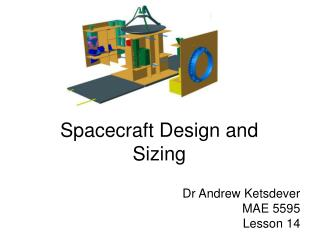 Spacecraft Design and Sizing