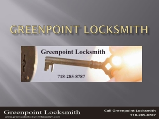greenpoint locksmith