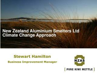 New Zealand Aluminium Smelters Ltd Climate Change Approach
