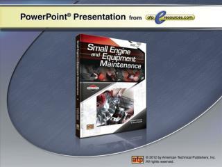 Outdoor Power Equipment Applications