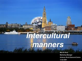 Intercultural manners