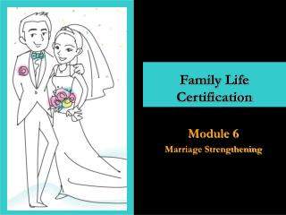 Family Life  Certification