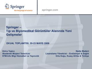 Springer    Tip ve Biyomedikal G r nt ler Alaninda Yeni Gelismeler