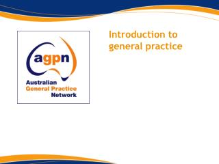 Introduction to general practice