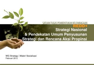 WG Strategy  Materi Sosialisasi Februari 2012