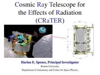 Cosmic Ray Telescope for  the Effects of Radiation CRaTER