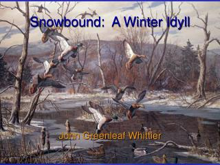 Snowbound:  A Winter Idyll
