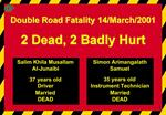 Double Road Fatality 14