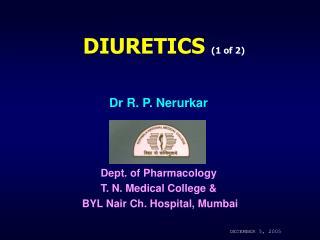 DIURETICS 1 of 2