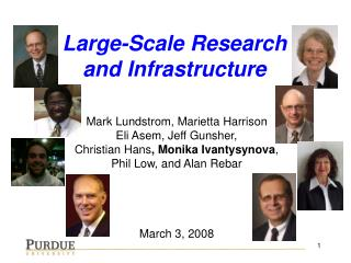 Large-Scale Research and Infrastructure