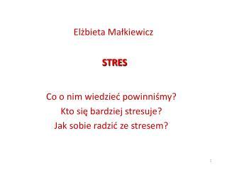 Elzbieta Malkiewicz