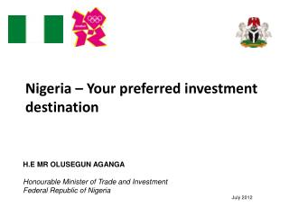 Nigeria   Your preferred investment destination