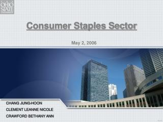 Consumer Staples Sector