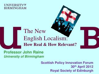 The New  English Localism: How Real  How Relevant