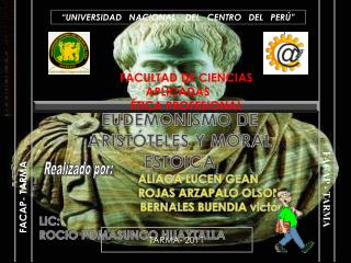 UNIVERSIDAD   NACIONAL    DEL   CENTRO   DEL   PER