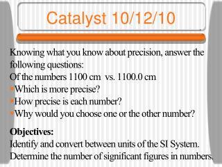 Catalyst 10