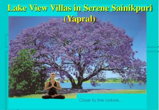 Lake View Villas in Serene Sainikpuri Yapral