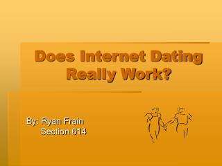 Does Internet Dating Really Work
