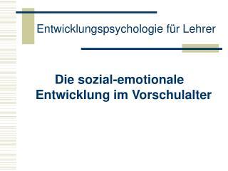 Entwicklungspsychologie f r Lehrer