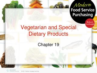 Vegetarian and Special Dietary Products