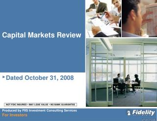 Capital Markets Review