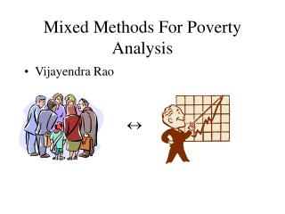 Mixed Methods For Poverty Analysis