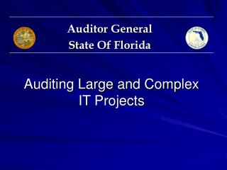 Auditing Large and Complex IT Projects