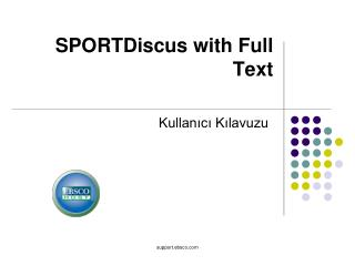 SPORTDiscus with Full Text