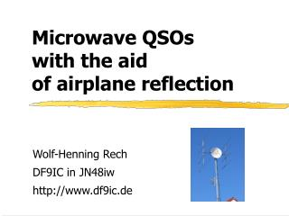 Microwave QSOs