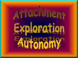 Attachment Exploration Autonomy