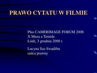 PRAWO CYTATU W FILMIE