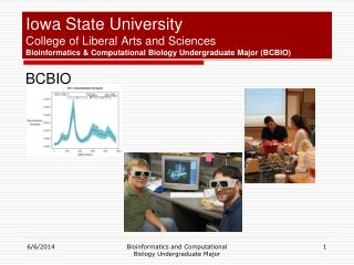 Iowa State University College of Liberal Arts and Sciences Bioinformatics  Computational Biology Undergraduate Major BCB