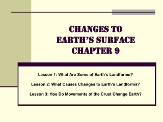 Chapter 6 Lesson 1 Earth s Structure