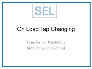 On Load Tap Changing