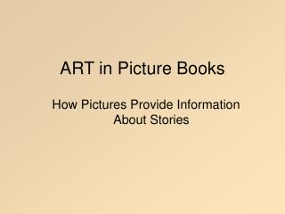 ART in Picture Books