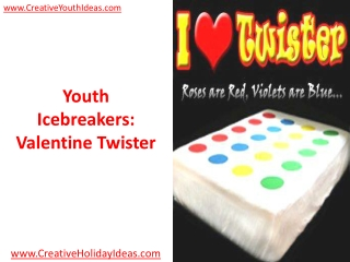 Youth Icebreakers: Valentine Twister