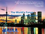 Atmospheric Flight Mechanics Technical Committee AIAA  Atmospheric Flight Mechanics Conference Toronto, Ontario 1 August