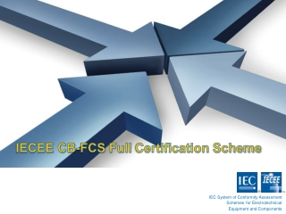 IECEE CB Scheme and FCS and