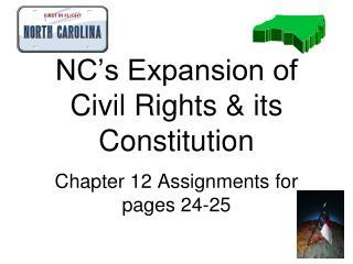 NC s Constitution
