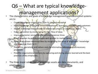 Q6   What are typical knowledge-management applications