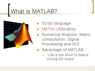 Introduction to MatLab: Image Processing