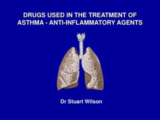 DRUGS USED IN THE TREATMENT OF ASTHMA - ANTI-INFLAMMATORY AGENTS