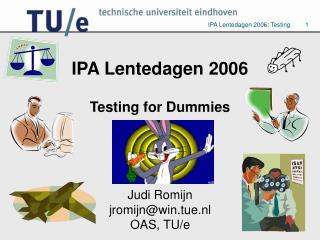 IPA Lentedagen 2006