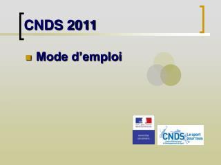 CNDS 2011