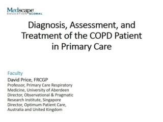 Management of COPD  within primary care