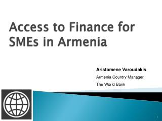 Access to Finance for SMEs in Armenia