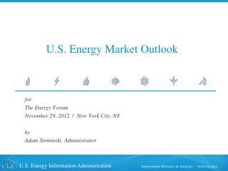 U.S. Energy Market Outlook