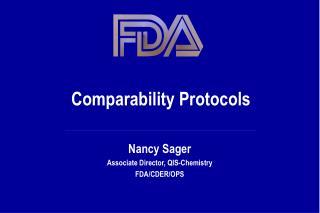 Comparability Protocols