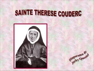 SAINTE THERESE COUDERC